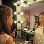 makijaż efekt w lustrze