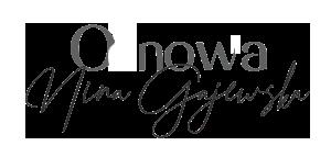 logo Odnova Nina Gajewska